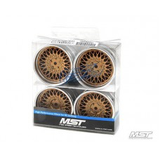 MST 102087GD GD-S 501 offset changeable wheel set (4 PCS)
