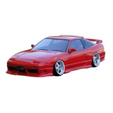 D-Like Nissan 180SX model 1996 1/10 RC Drift 190mm Clear Body Set #DL083