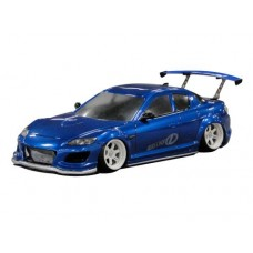 D-Like Mazda RX-8 SPIRIT R 197mm 1/10 Clear RC Drift Body #DL096