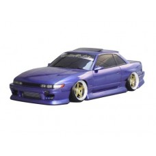 D-Like Nissan S13 Silvia 1/10 198mm Clear Body Set #DL103