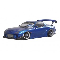 D-Like Mazda RX-7 FD3S 1/10 RC Drift 198mm Clear Body Set #DL107